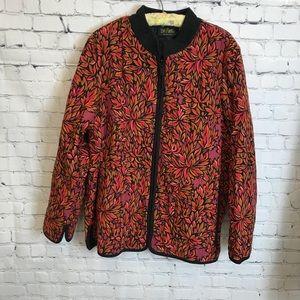 Bob Mackie Wearable Art Jacket Size X Large